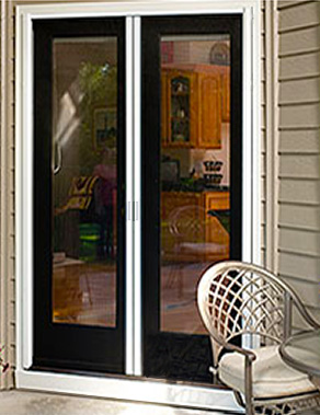 Retractable Double Screen Doors